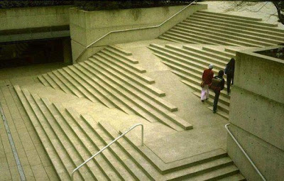 Stair-case Designed for Handicapped