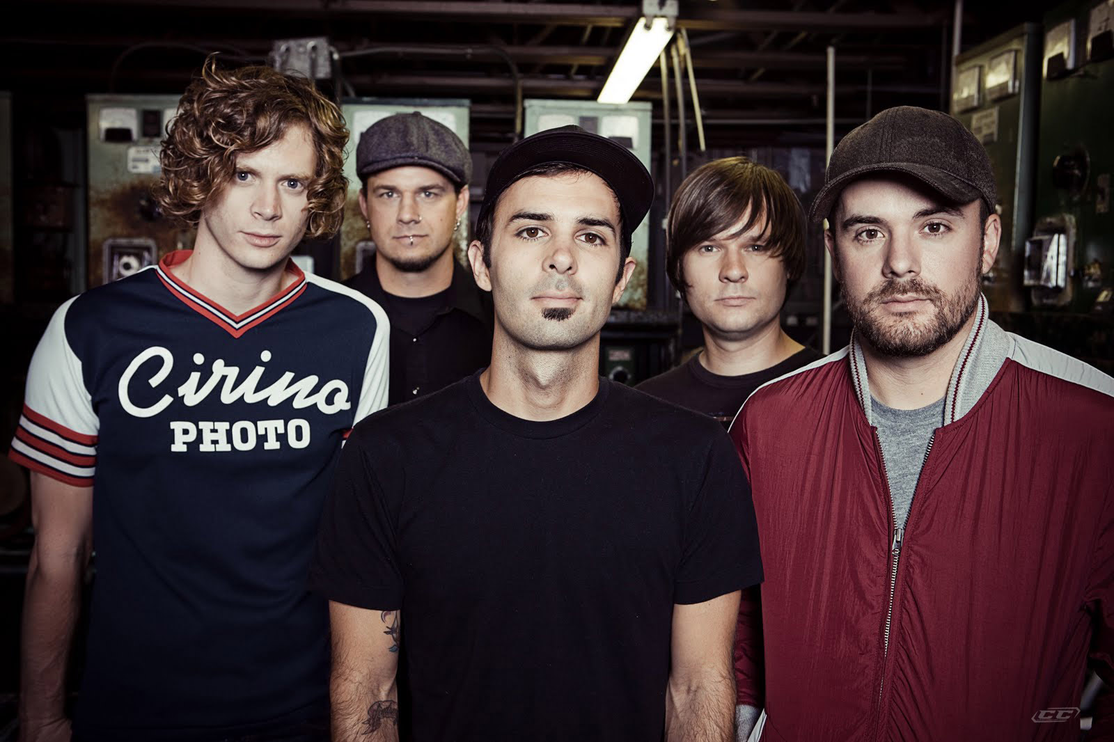 Relient K - Collapsible Lung 2013 Band Members