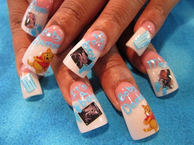 digital nail art printers printed