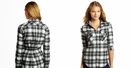 Girls Flannel Shirts