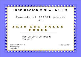 1er Lugar Inspiración Visual No.119