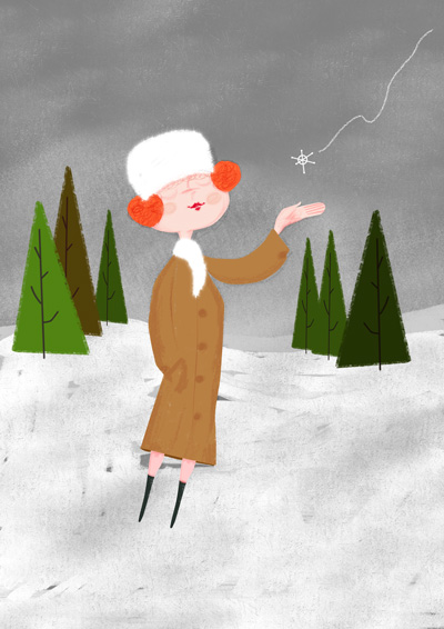 Illustration Friday - Snow
