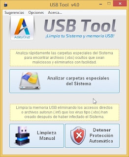 Desinfectar pendrive con USB Tool