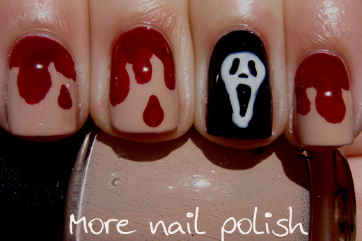 Horror Movie This Is Halloween Nail Art Challenge More Nail Polish