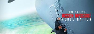 Belle couverture du journal facebook Mission Impossible 5