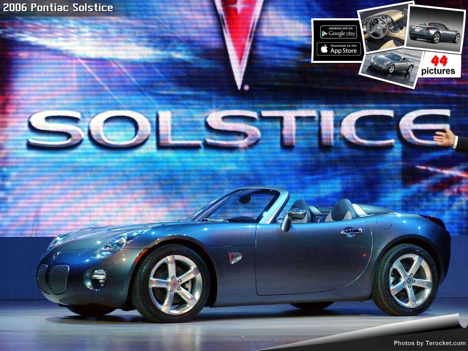 Hình ảnh xe ô tô Pontiac Solstice 2006 & nội ngoại thất