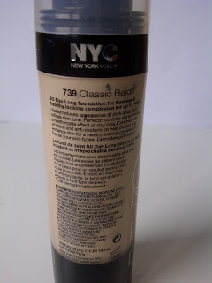 NYC All Day Long Smooth Skin Foundation Classic Beige