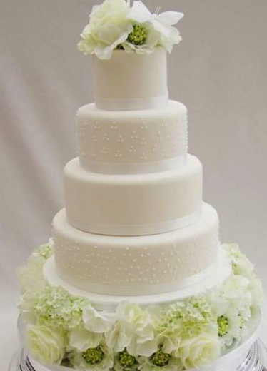 Beautiful Round Wedding Cake Designs for inspiration ...