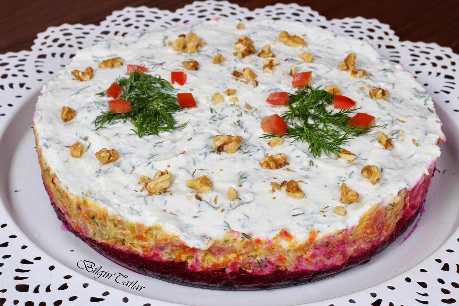 Kabaklı Havuç Salatası