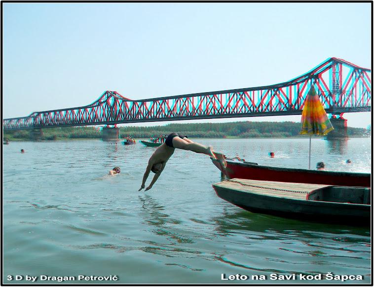 Na Savi kod starog mosta