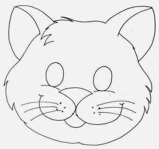 Máscaras de Animales para Imprimir Gratis. | Ideas y material ...