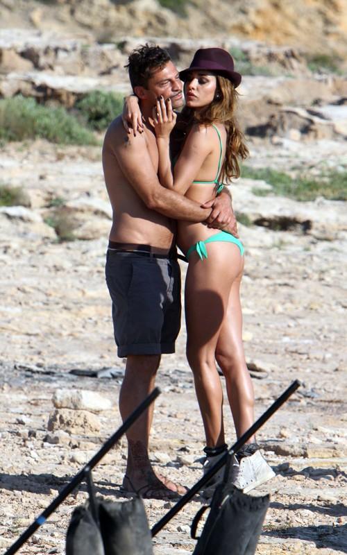 Belen Rodriguez Bikini Nude Photos 6