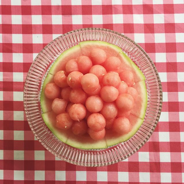 Watermelon, Summer, Dessert
