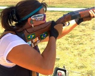 Janice Teixeira - Fossa Olímpica - Copa Continental Americana de Tiro ao Prato Olímpico - Foto: Divulgação