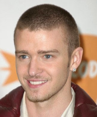 Justin Timberlake Male Celebrity Hairstyles