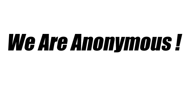 anonymous to take down internet