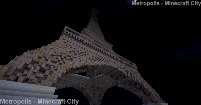 Eiffel Tower  - Minecraft Metropolis