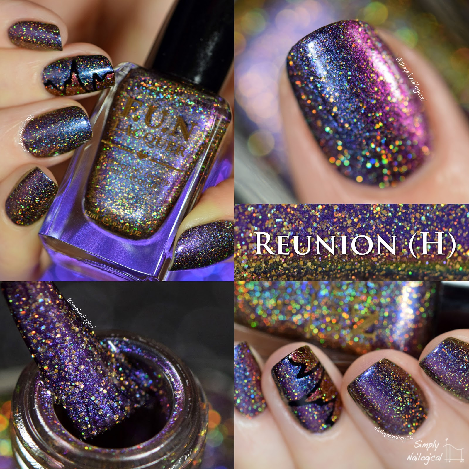 FUN Lacquer Reunion (H) swatch