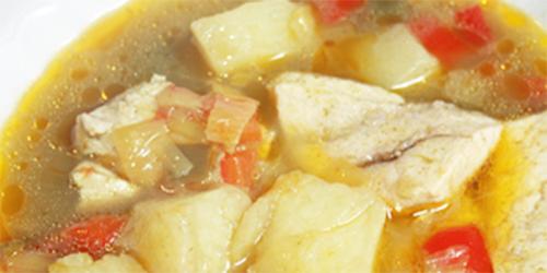 receta: Sopa de pescado