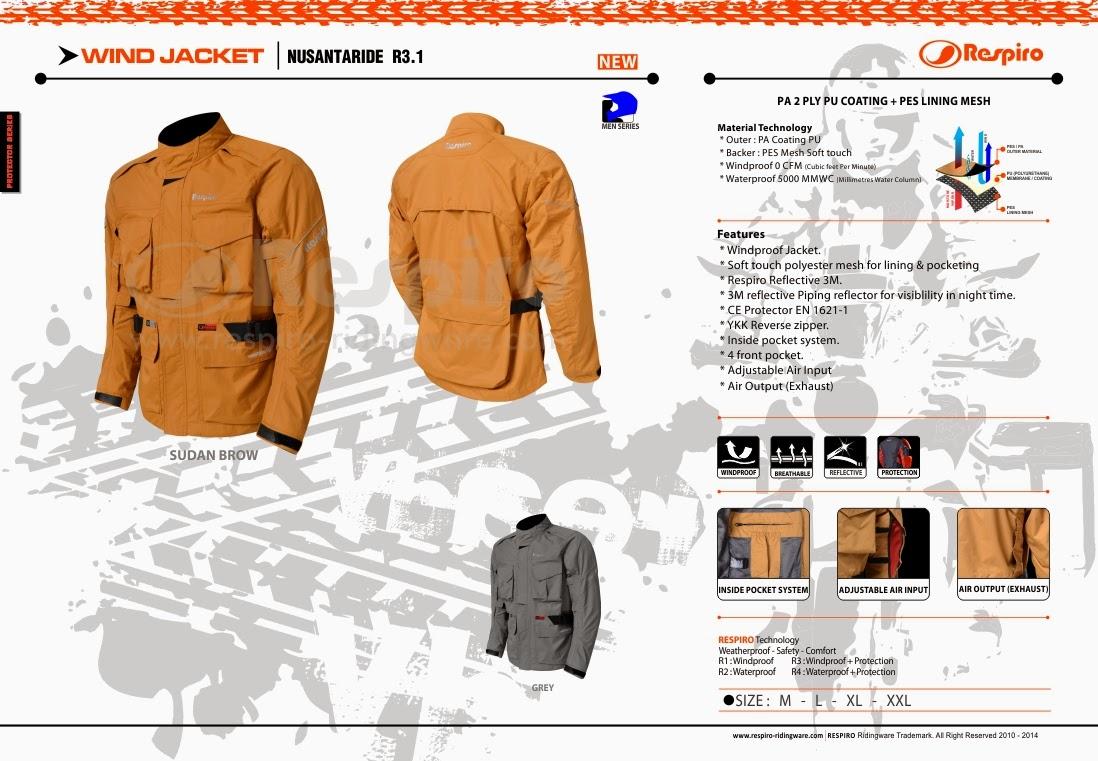 Spec Jaket Nusantararide