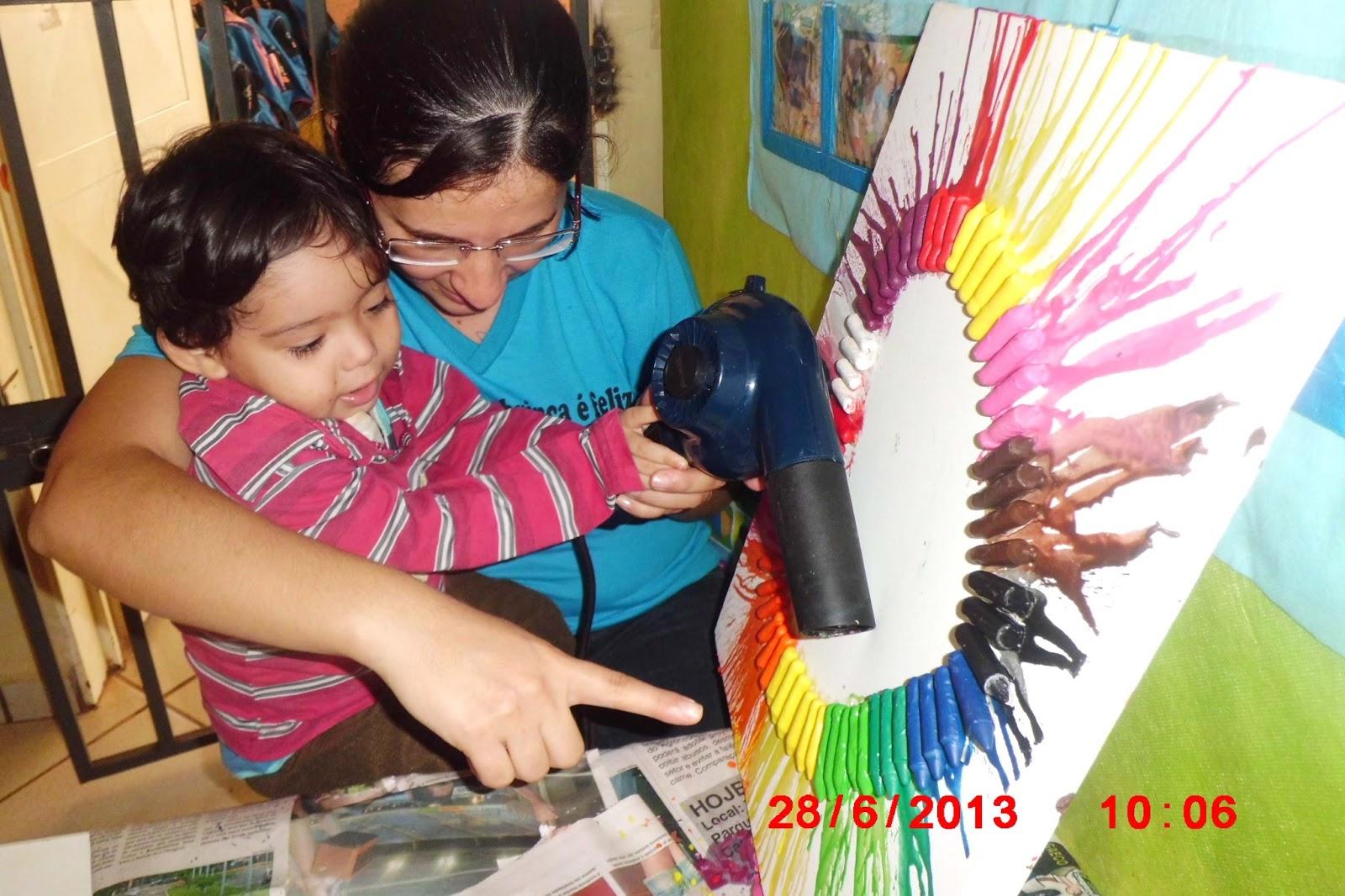 Excepcional COMPARTILHANDO SABERES NA EDUCAÇÃO INFANTIL***: ARTES VISUAIS NO  OD93