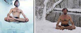 Manusia tahan terhadap suhu dingin