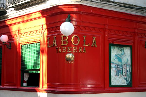 La Bola, taberna calle de la bola madrid