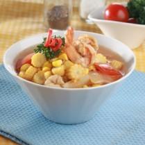 Resep Masakan SUP PUTREN TOMAT PASTA