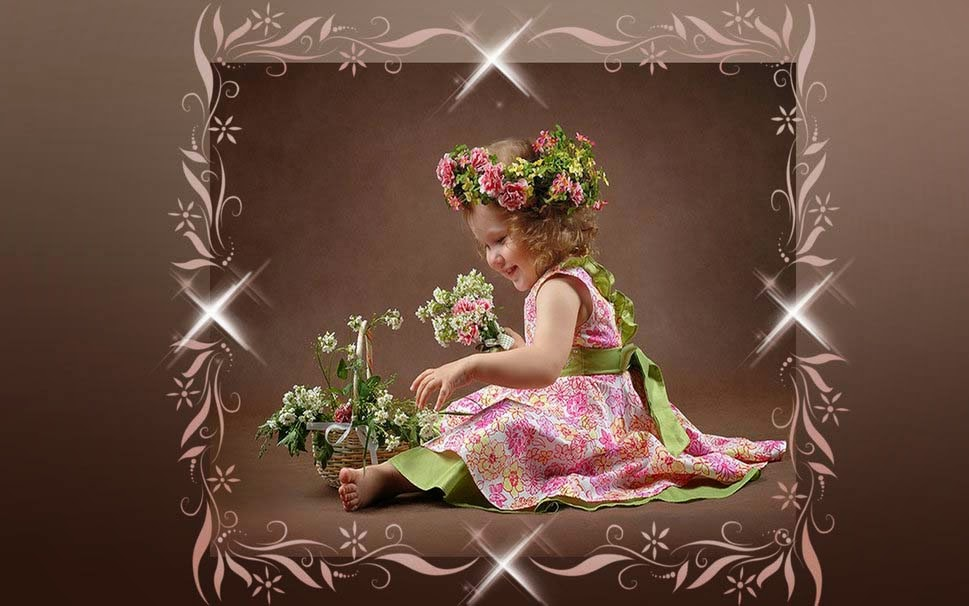 cute-baby-girl-with-flowers