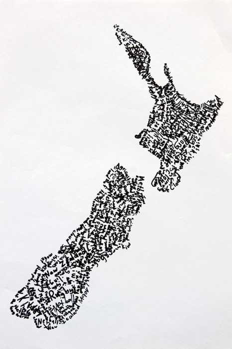 Line Drawing New Zealand Map : Art with mr hall paula scher inspired nz