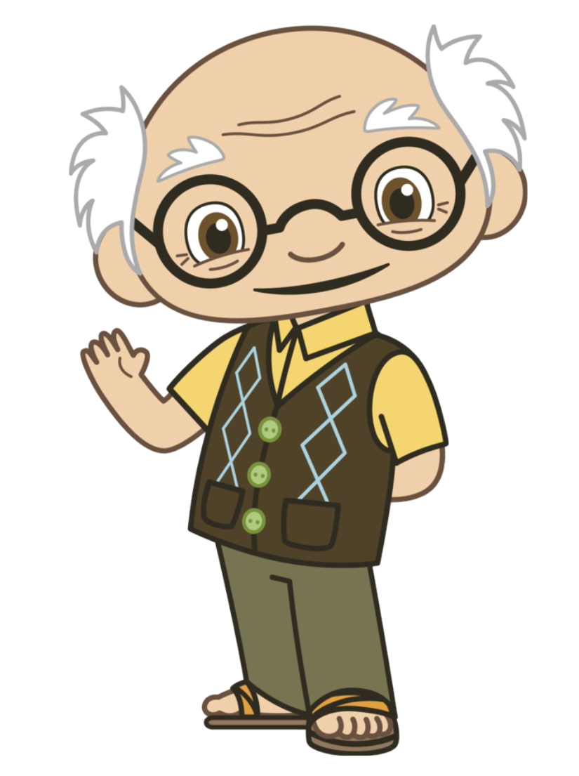 animated grandpa