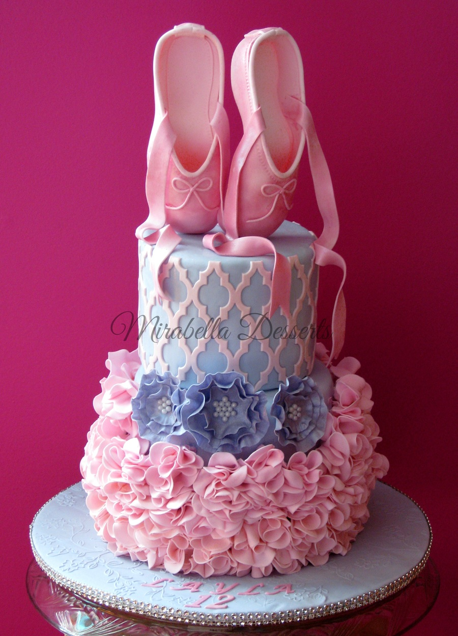 ballerina birthday cakes pictures