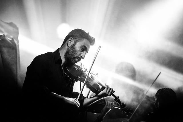Bermain Violine