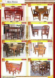 Meja dan Kursi Makan Furniture Klender ( Halaman 39 )