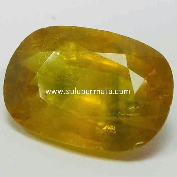 Batu Permata Yellow Sapphire - 21B03
