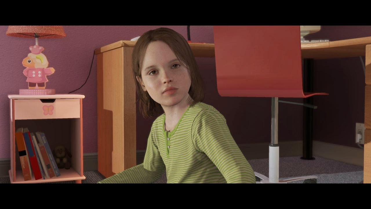 cross-up: let's discuss beyond: two souls.