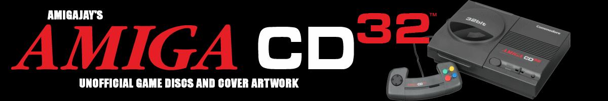 Amiga CD32 Alternate Covers