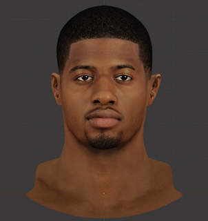NBA 2K14 Paul George HD Face Mod
