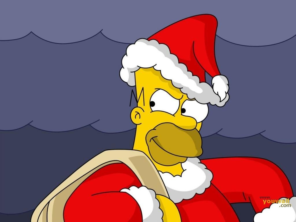 Homero Santa Claus