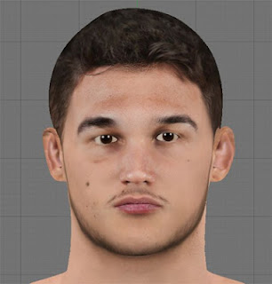 NBA 2K13 Danilo Gallinari Cyber Face Mods