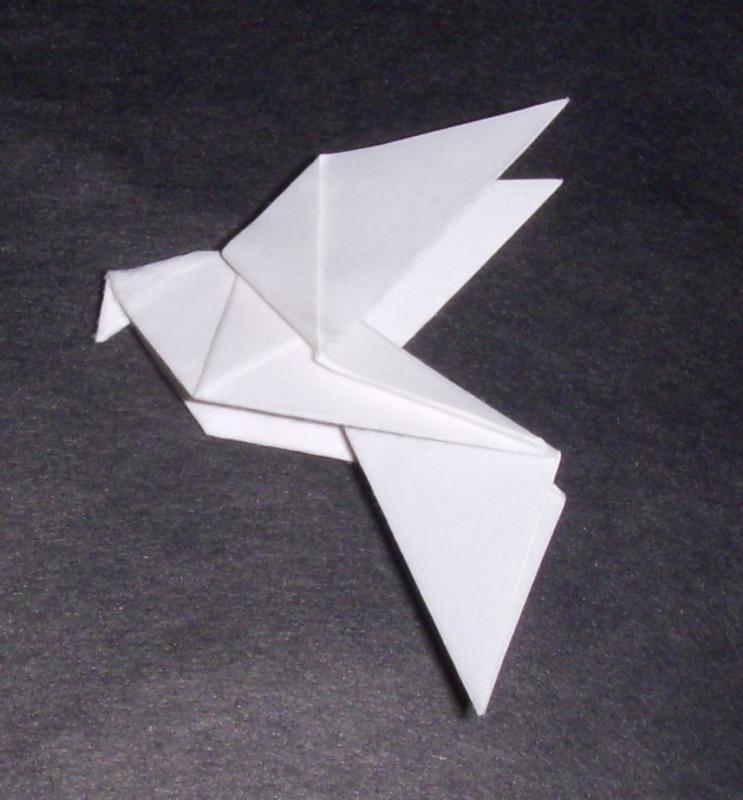 Origami origami dove - Origami origami origami ...