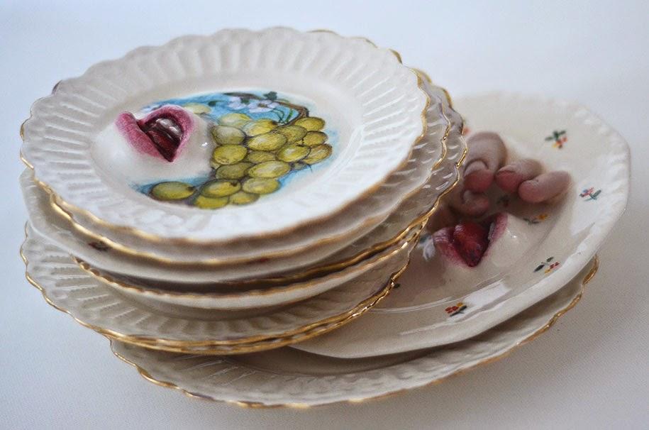 creepy ceramic tableware ronit baranga-7