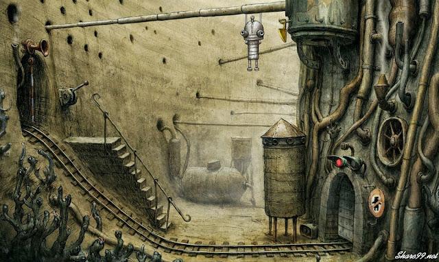 Download game trí tuệ giải đố hay nhất cho PC - Machinarium