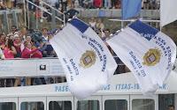 REMO - Urdaibai y San Juan ondearon la bandera de La Concha