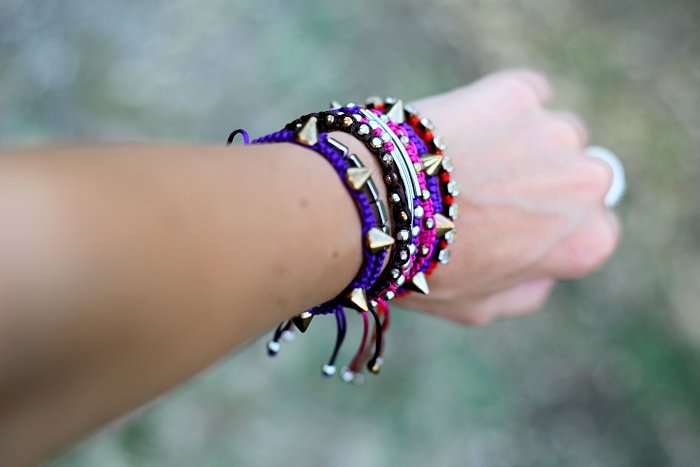 colorful bracelets, DIY bracelets,