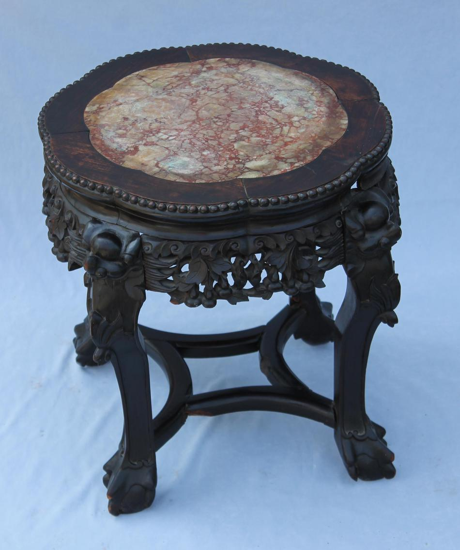 Hand Carved Coffee Table Images Oriental Round