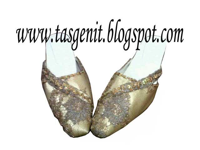 selop pesngantin sandal pesta wanita big size