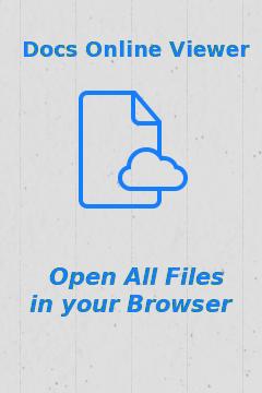 Install Docs Online Viewer for Your Browser