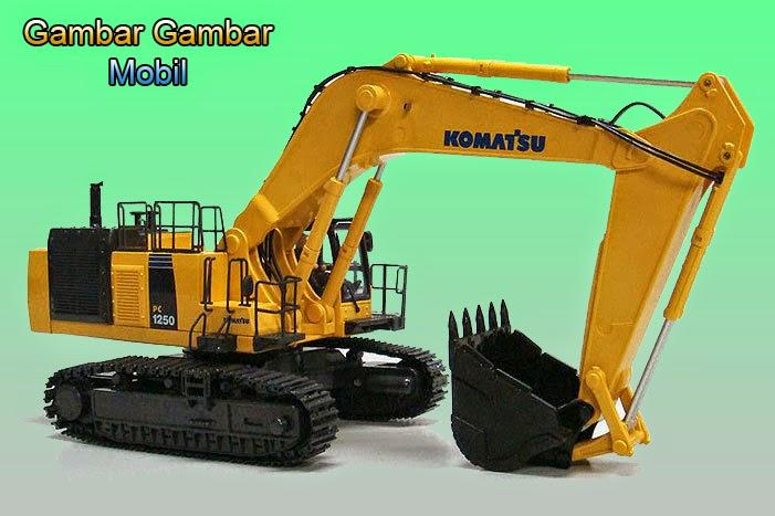 gambar excavator terbaru