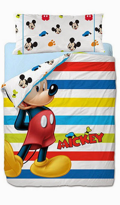 Mickey Colors Gamanatura. Funda nordica y juego de sabanas Disney